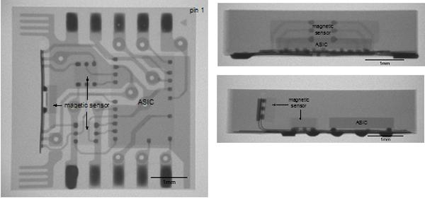 Figure 2 – X-Ray of Magnetic Sensor