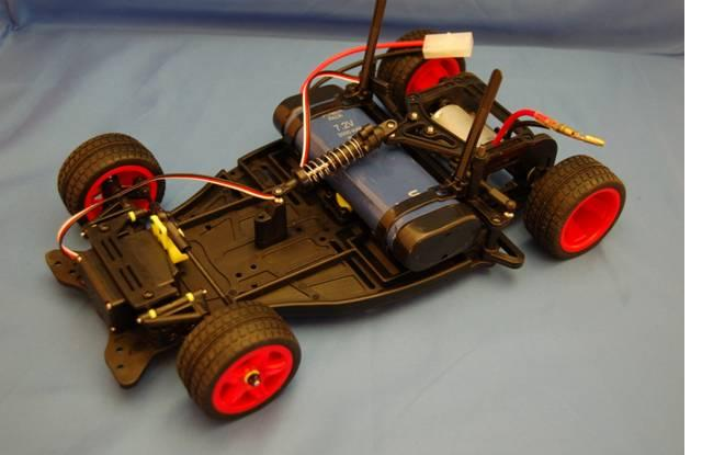 Freescale Cup autonomous car chassis